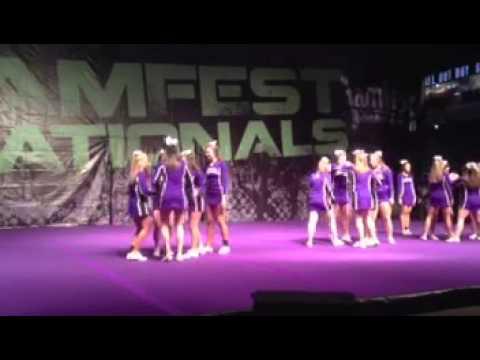Stonehill cheer 2013