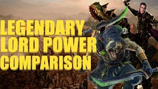 Malus Darkblade & Snikch - Legendary Lord Power Comparison