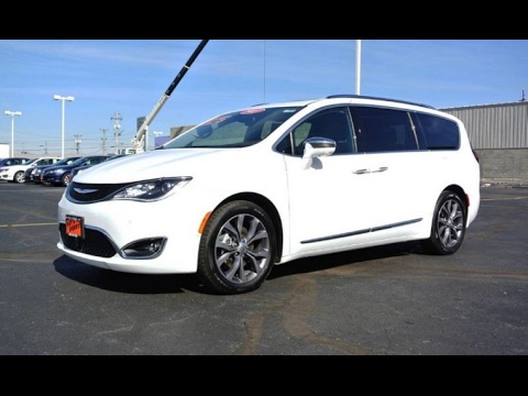 2017 Chrysler Pacifica Limited For Sale Dayton Troy Piqua Sidney Ohio  27683T