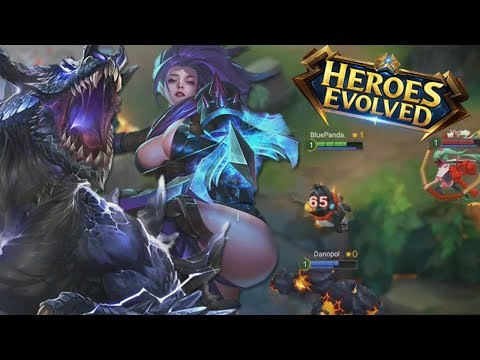 Heroes Evolved First Look! (Gameplay,Review,Thoughts, Mobile)