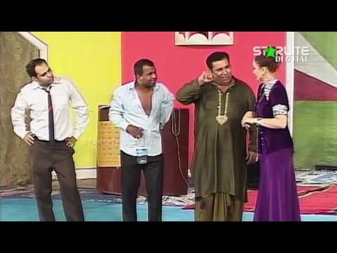 Best Of Nargis, Naseem Vicky and Nasir Chinyoti New Pakistani Stage Drama Full Comedy Funny Clip: