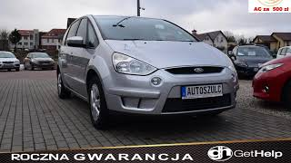 Ford S-MAX 2.0 Benzyna 2006 rok