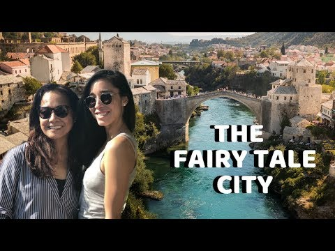 Surprise family detour trip! (MUST-SEE MOSTAR BOSNIA)