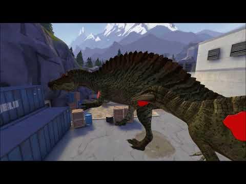 Suchomimis vs Spinosaurus creacher wars