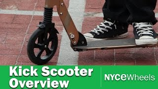 Kickscooter Overview: Kickped vs Micro Suspension vs Xootr!