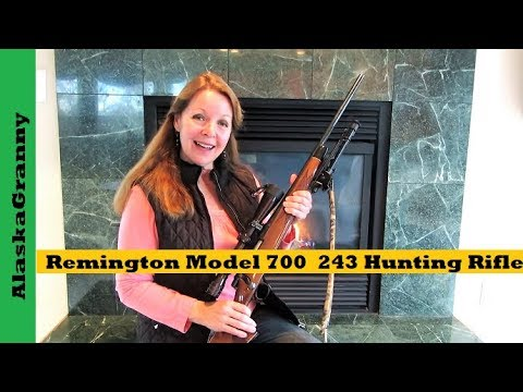 Remington Model 700 243 Hunting Rifle Gun Review