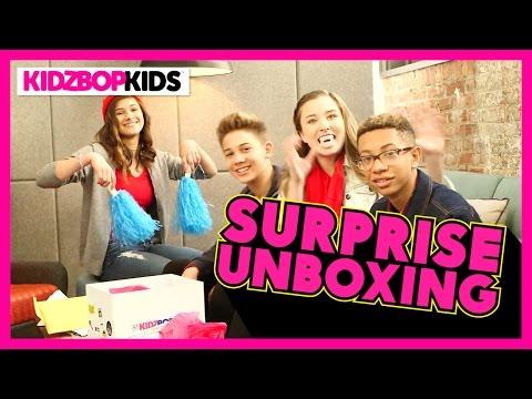 KIDZ BOP 30 Unboxing with The KIDZ BOP Kids!
