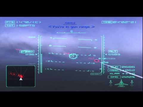 Ace Combat 4 Mission 8 Shattered Skies