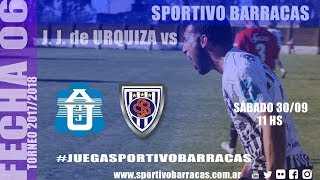 Justo José de Urquiza vs Sportivo Barracas full match