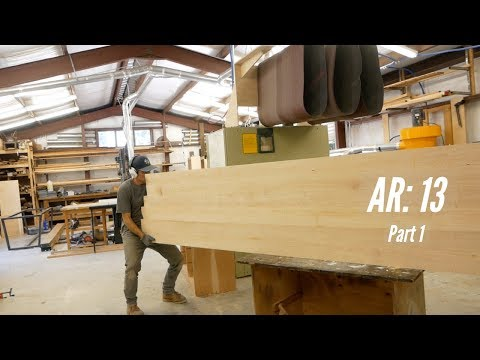 Building A 12' Hard Maple Conference Table: Part 1