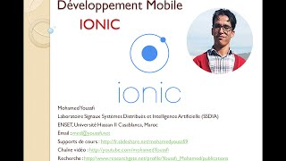 Part 3  Développement Mobile Hybride avec IONIC Meteo Geolocalisation Local Storage By Mohamed Youss
