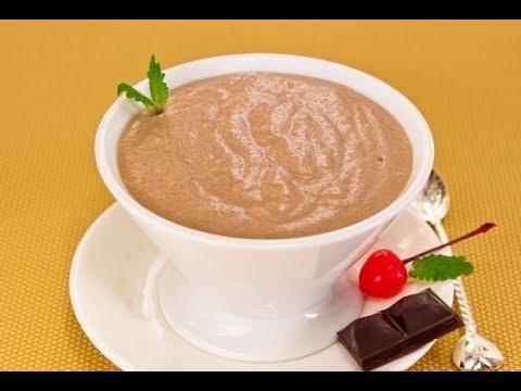 шоколадная манная каша, без комочков