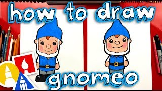 How To Draw Gnomeo From Sherlock Gnomes