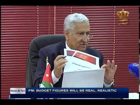 English News at ten in Jordan Television 01-11-2015