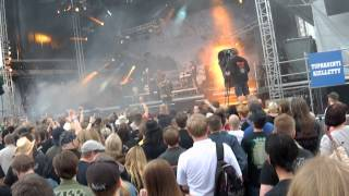 Children Of Bodom - Halo Of Blood @ Kivenlahti Rock, Espoo 07.06.2013