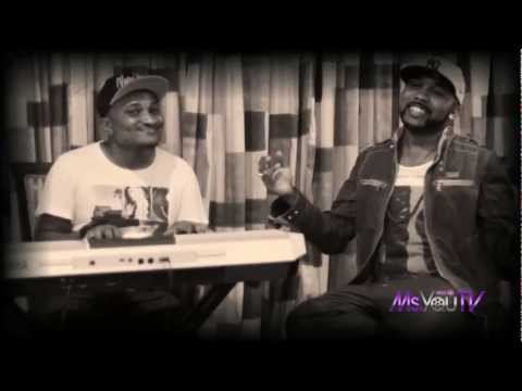 Banky W Sings Omoge / Turn Your Lights Down Low Live For MsYouTV.Com!