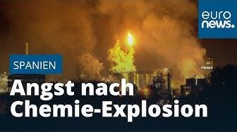 Angst nach Chemie-Explosion: Todbringende Metallplatte (800 Kilo) fliegt 5 km weit