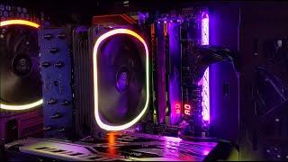 Noctua with RGB! - NH-D15 & NH-U12S Chromax Black CPU Coolers