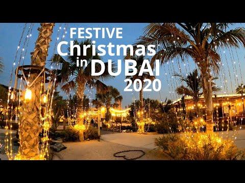Festive Christmas in Dubai 2020