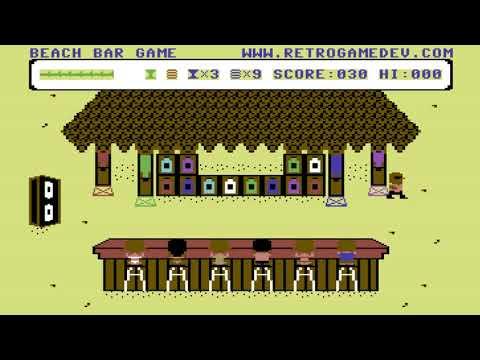 C64 Game: Beach Bar