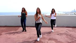 Zumba Bachata сумасшедший - ZUMBA Fitness STEP BY STEP