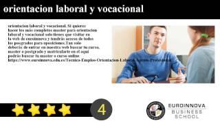 orientacion laboral y vocacional