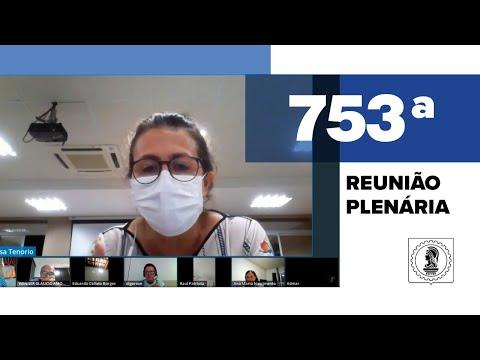 753ª Reunião Plenária - Crea-AL