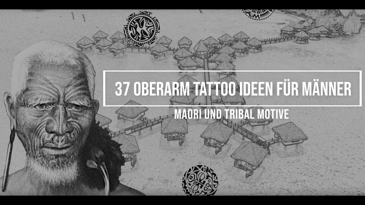 Motive oberarm tattoos männer Männer Tattoos
