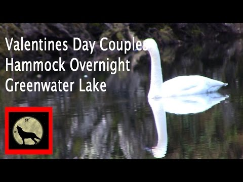 Valentines Day Couples Hammock Overnight-Greenwater Lake-Washington Hikes