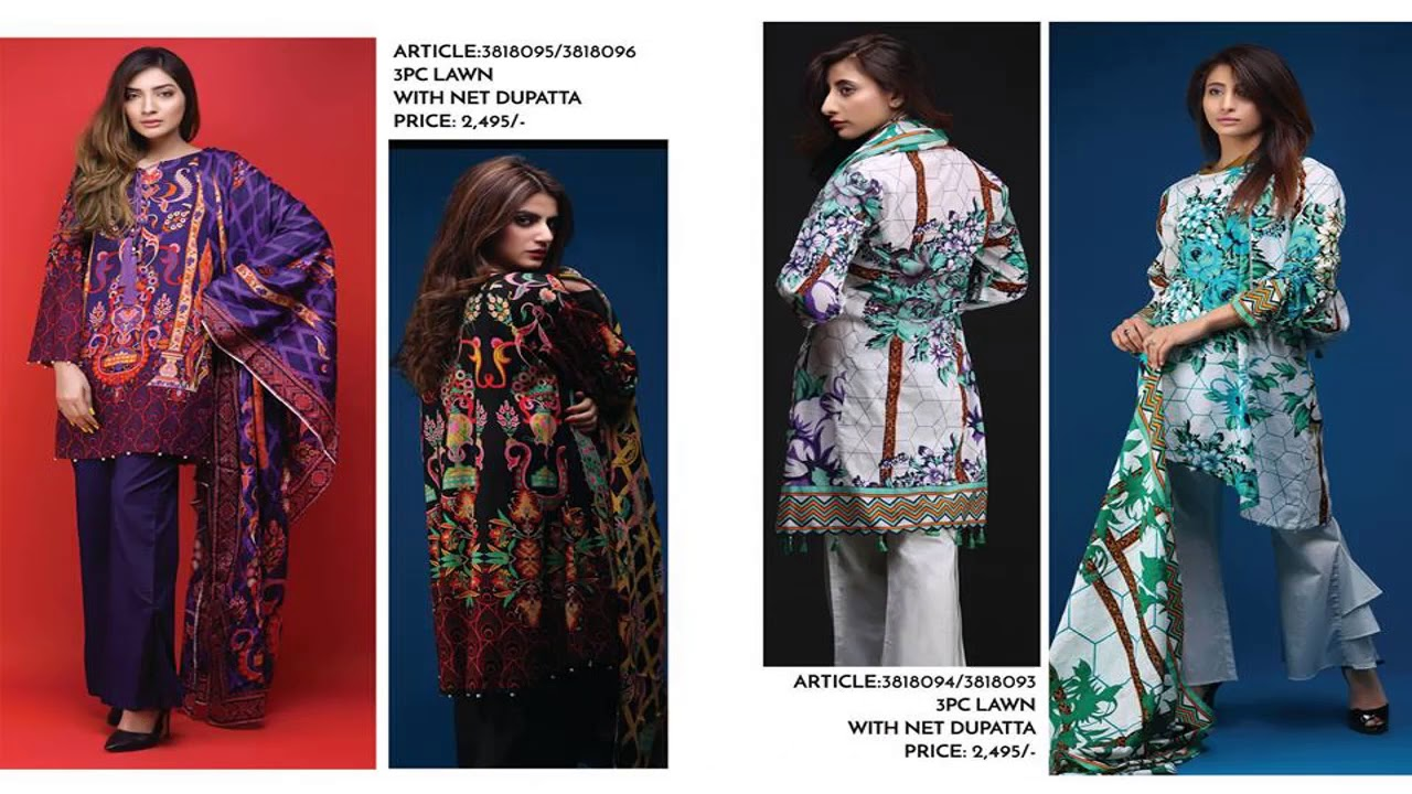 9dbc23d144 Latest Warda Queen Of Hearts Summer Collection 2018 With Price. Fashion  world
