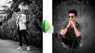 Snapseed Black & White Tone Effect | Snapseed Photo Editing | Snapseed Tutorial