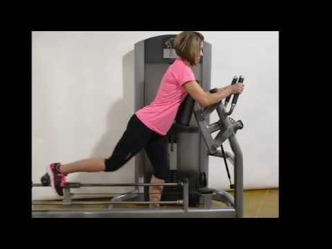 hip extension machine