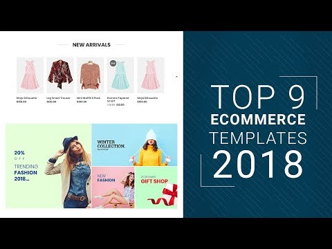 Best ECommerce Templates For 2018 | Top 9 ECommerce Templates That Follow All 2018 Trends