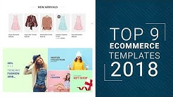 Best eCommerce Templates for 2018   Top 9 eCommerce Templates That Follow All 2018 Trends