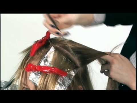 How to Balayage Highlights Technique with BW2 Powder