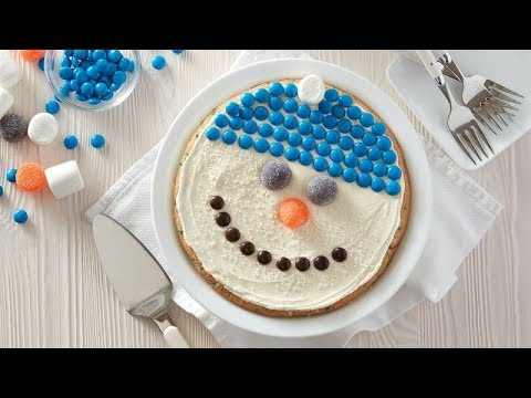 Snowman Sugar Cookie Pie | Betty Crocker Recipe