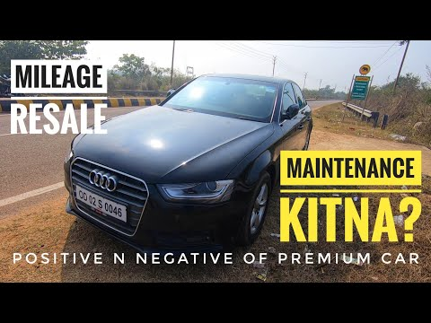 5 Years AUDI A4 Long Term Ownership REVIEW - Mileage Maintenance Resale