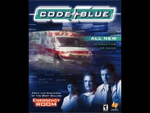 Code Blue (2000) PC Hospital simulation FMV game intro and gameplay