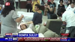 Seluruh Pasien Rumah Sakit di Manado Panik akibat Gempa