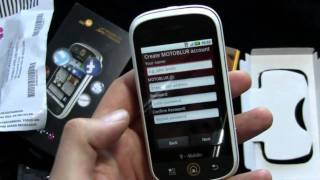 T-Mobile Motorola CLIQ - Unboxing and Hands-On