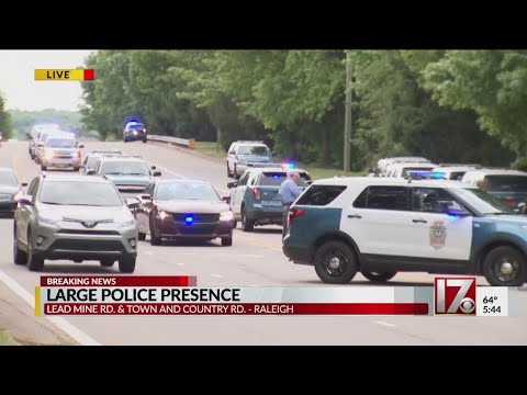 Raleigh police searching for shooting suspect after vehicle found crashed 8 miles from scene