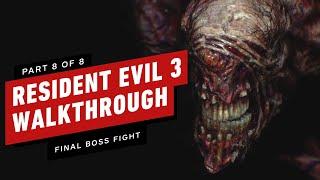 Resident Evil 3 Walkthrough - Final Boss Fight (Part 8)