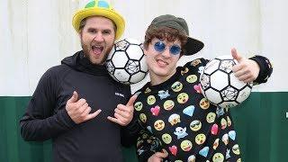 Har besøg af en meget skør YouTuber! FÅ ET GODT GRIN! :D ▻Daremans ...