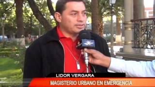 MAGISTERIO URBANO EN EMERGENCIA