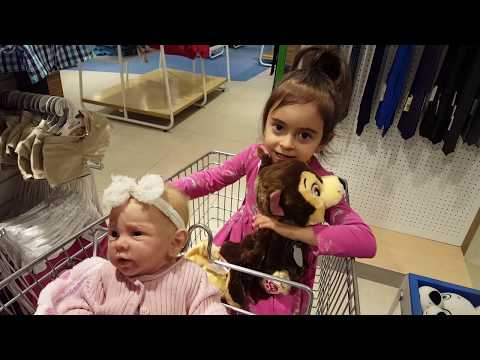 Thumbnail: Emily's Shopping Trip with Silicone Baby Doll / Building Bear Workshop