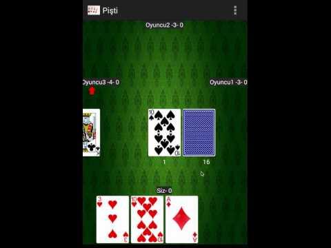 Android Pişti Oyunu
