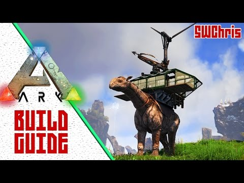 Paraceratherium Base Tutorial :: ARK Building Guide :: How to Build a Mobile Platform Base