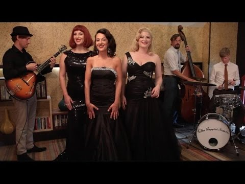 Girls Just Wanna Have Fun - Vintage Swing Vocal Harmony Retro Jazz 1940s The Puppini Sisters