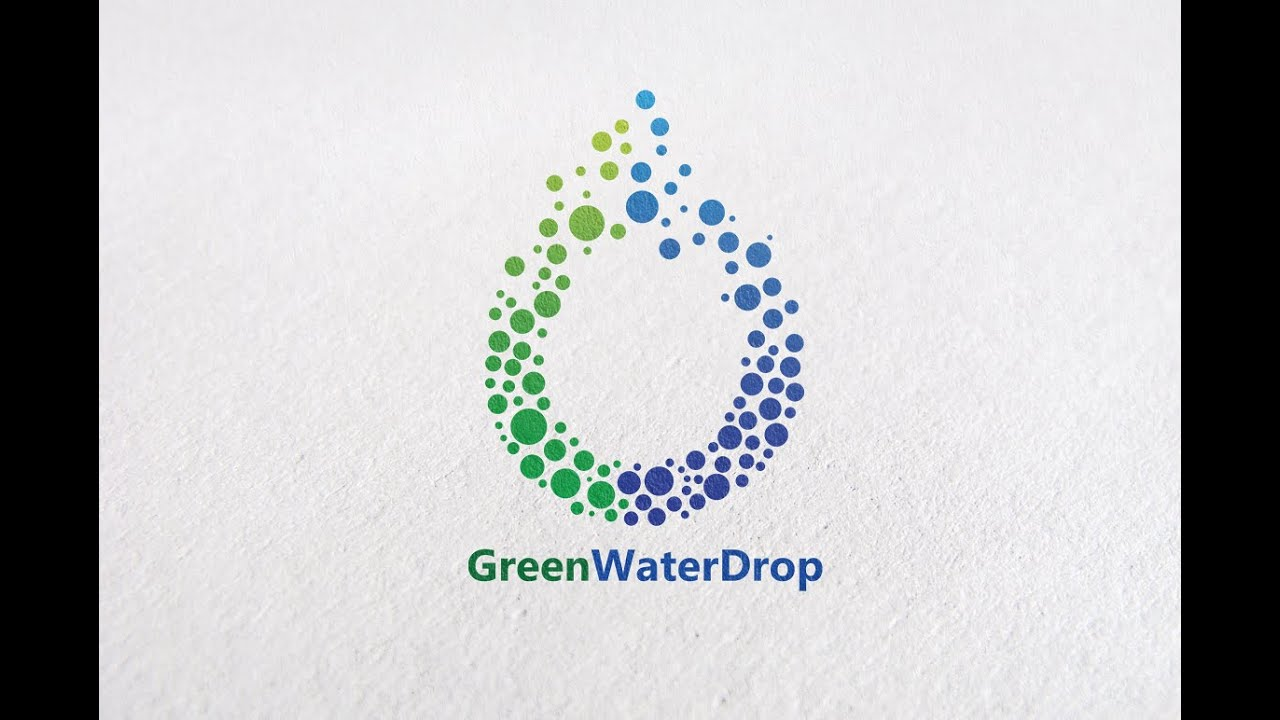 tutorial adobe illustrator how to create water drop logo design