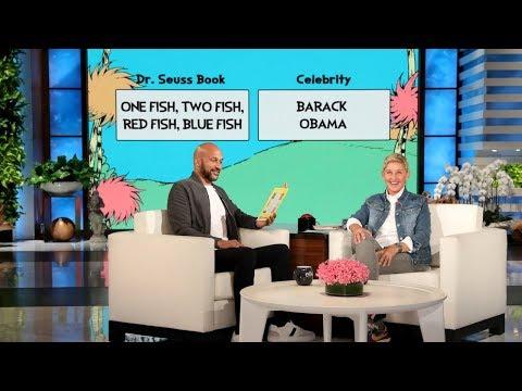 Keegan-Michael Key Reads Dr. Seuss as President Obama